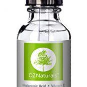OZ NATURALS-DAS BESTE Hyaluron Säure Serum für die Haut in klinischer Stärke Anti-Aging Serum. Bestes Anti-Falten-Serum mit Vitamin C + Vitamin E - Ein FACELIFT aus der Flasche, wirkt um Ihre Haut mit Feuchtigkeit zu füllen, für das jugendliche strahlende Aussehen. - 1