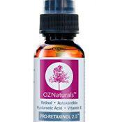OZ NATURALS Retinol Serum - Das BESTE Anti-Falten-, Anti-Aging-Serum - enthält Retinol + Astaxanthin + Vitamin E. Dieses Intensiv Falten-Korrektur Serum gibt Ihnen die dramatischen Ergebnisse, die Sie schon so lange gesucht haben- auch für empfindliche Haut geeignet- Ihre Zufriedenheit ist 100% garantiert! - 1