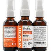 ENORM- 60ml Vitamine C Serum mit Hyaluronsäure & Vitamin E - Bestes natürliches und organisch zeitgemäßes Gesichtsserum mit 20% reinem Vitamin C - Anti-Aging, Anti-Falten, reduzieren Altersflecken und dunkle Ringe, Repariert Sonnenschäden - 1
