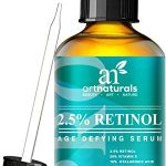 Art Naturals Enhanced Retinol Serum 2.5% with 20% Vitamin C & Hyaluronic Acid 1 oz- -Best Anti Wrinkle, Anti Aging Serum for Face & Sensitive Skin -Clinical Strength Organic Ingredients -Night Therapy - 1
